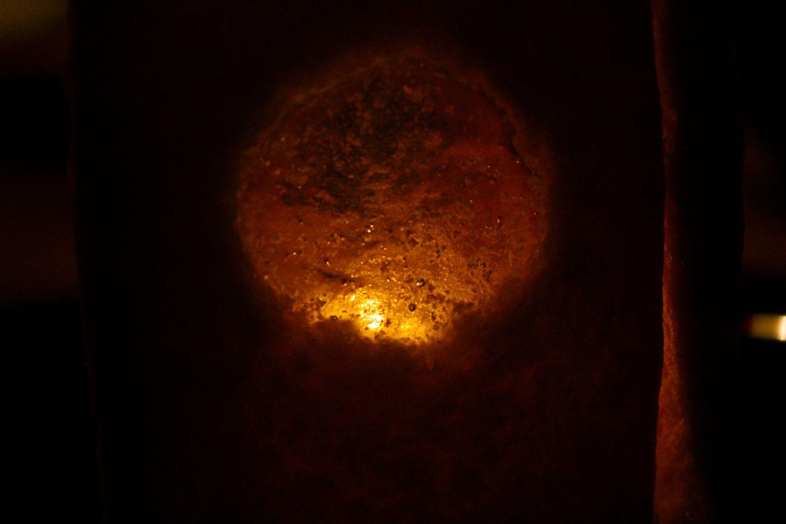Au dessert, soufflez la bougie et dégustez la lanterne!