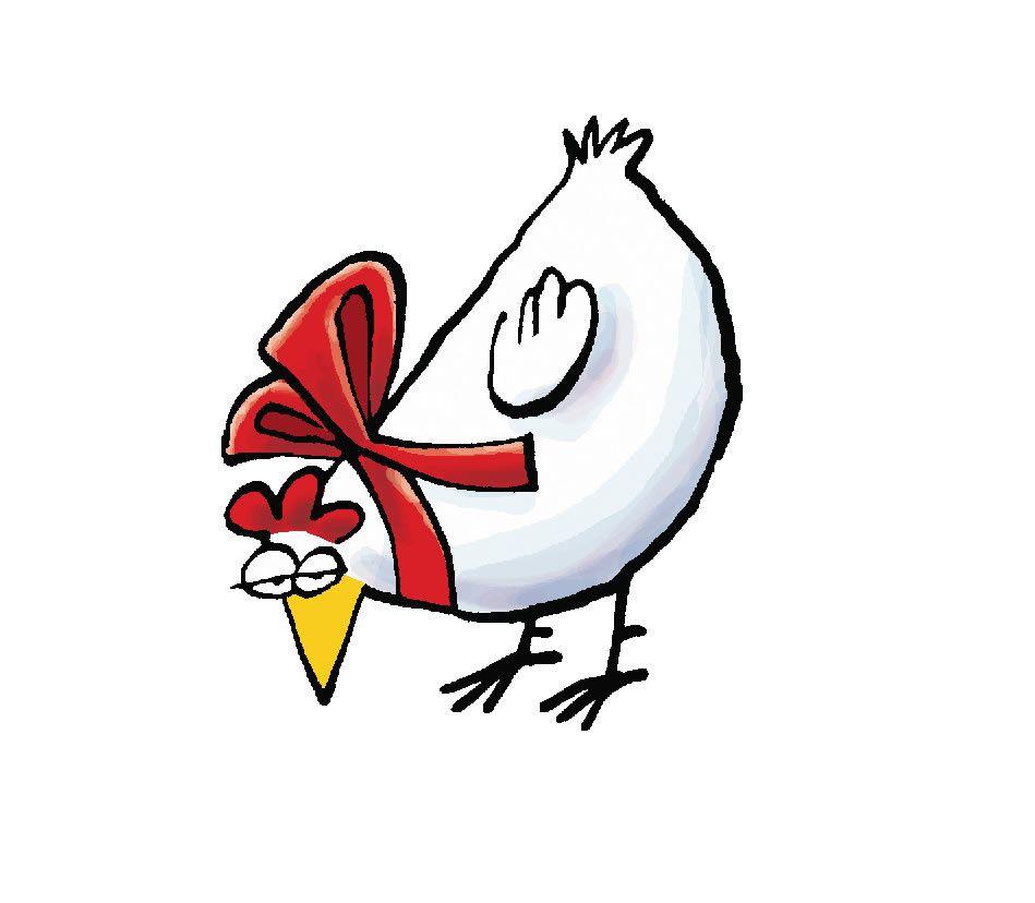 Allez sois pas maussade poulette, c'est bientôt la fête!