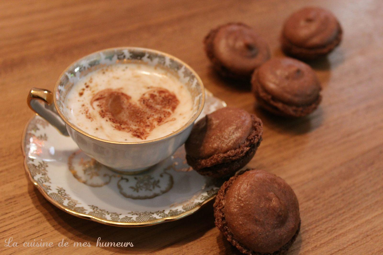 Macarons au nutella ♥