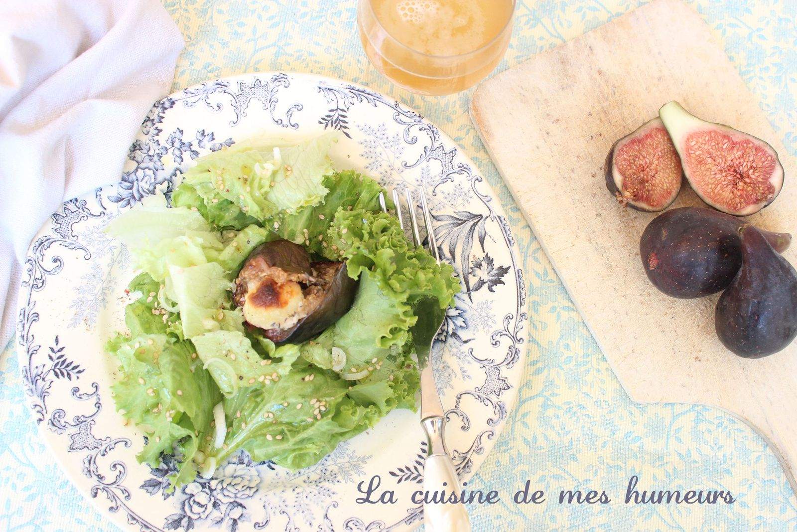 Un plat d'été à servir avec une salade verte