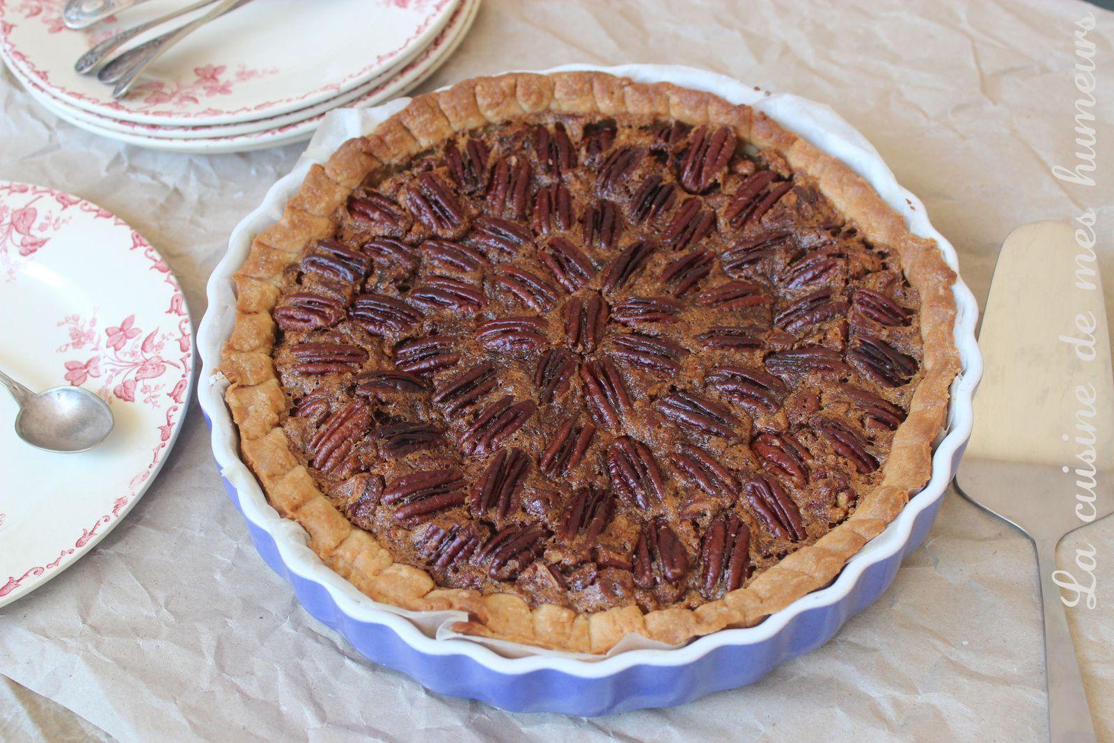 la vraie recette de la tarte aux noix de p can pecan pie i love you la cuisine de mes. Black Bedroom Furniture Sets. Home Design Ideas