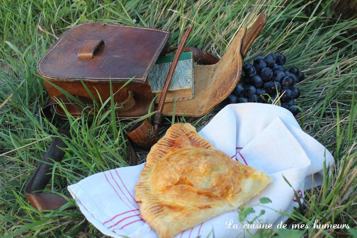 Chausson à la viande, poireaux et champignons: une recette hobbite!