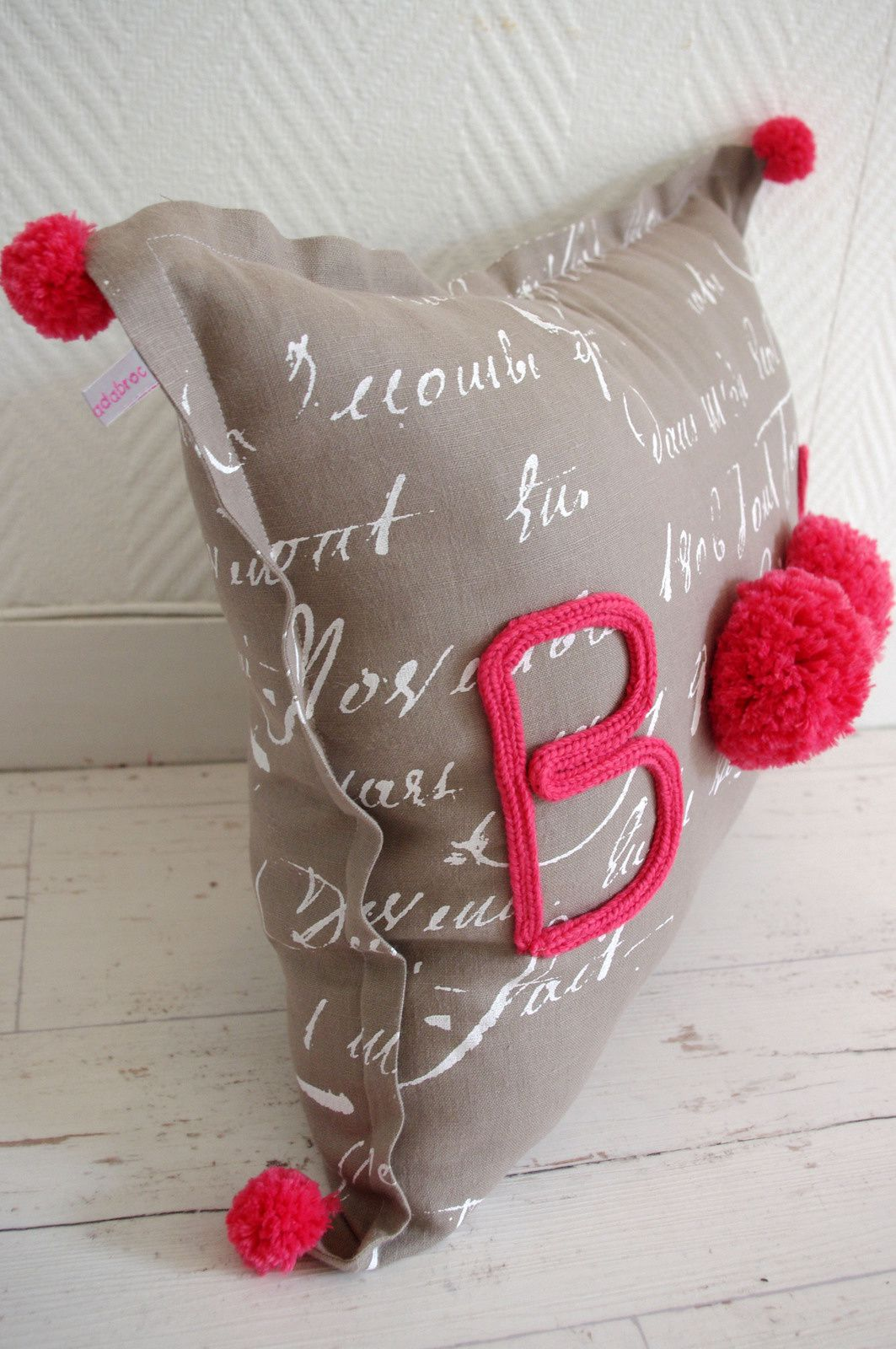 """Coussin """"Boom"""""""