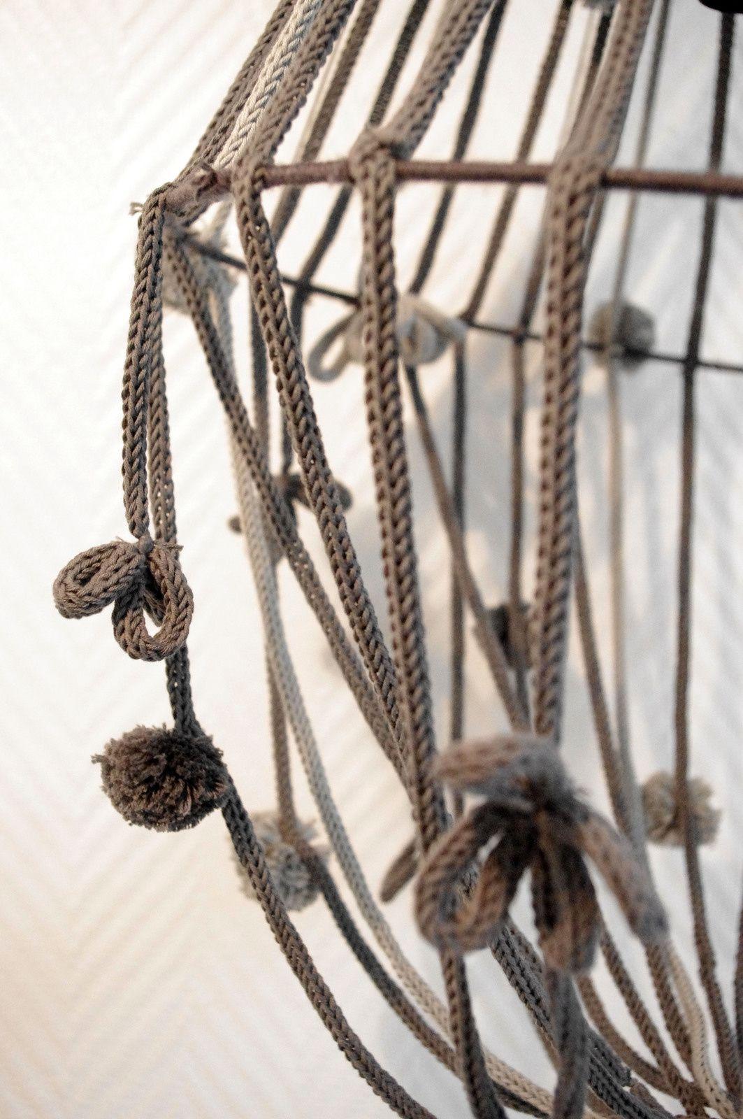 Lustre en tricot