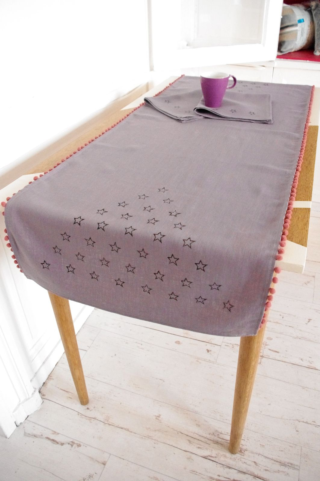 Collection linge de table