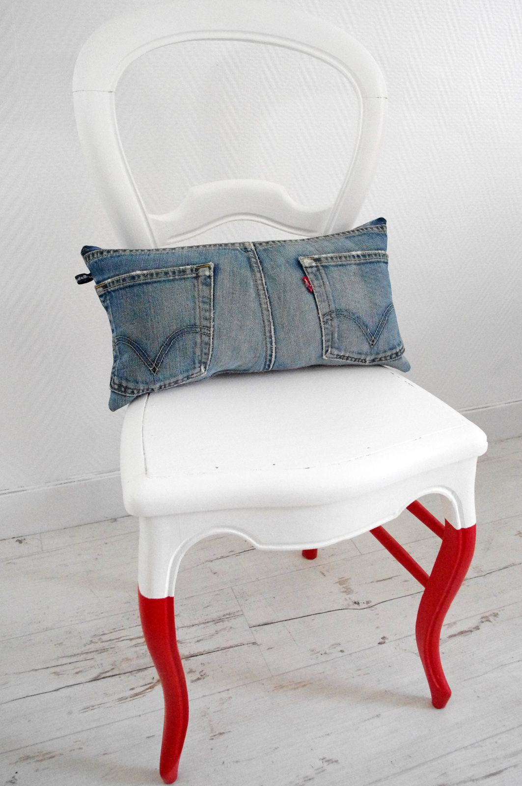 Cale reins en jean