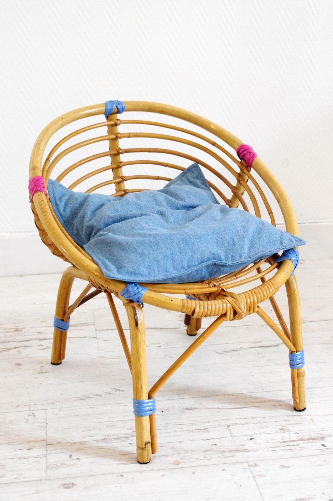 petit fauteuil d 39 enfant en osier l 39 abracadabroc. Black Bedroom Furniture Sets. Home Design Ideas