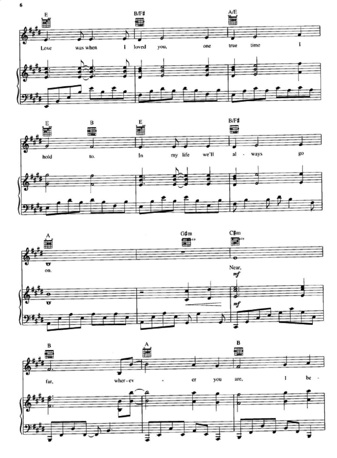 my heart will go on piano pdf