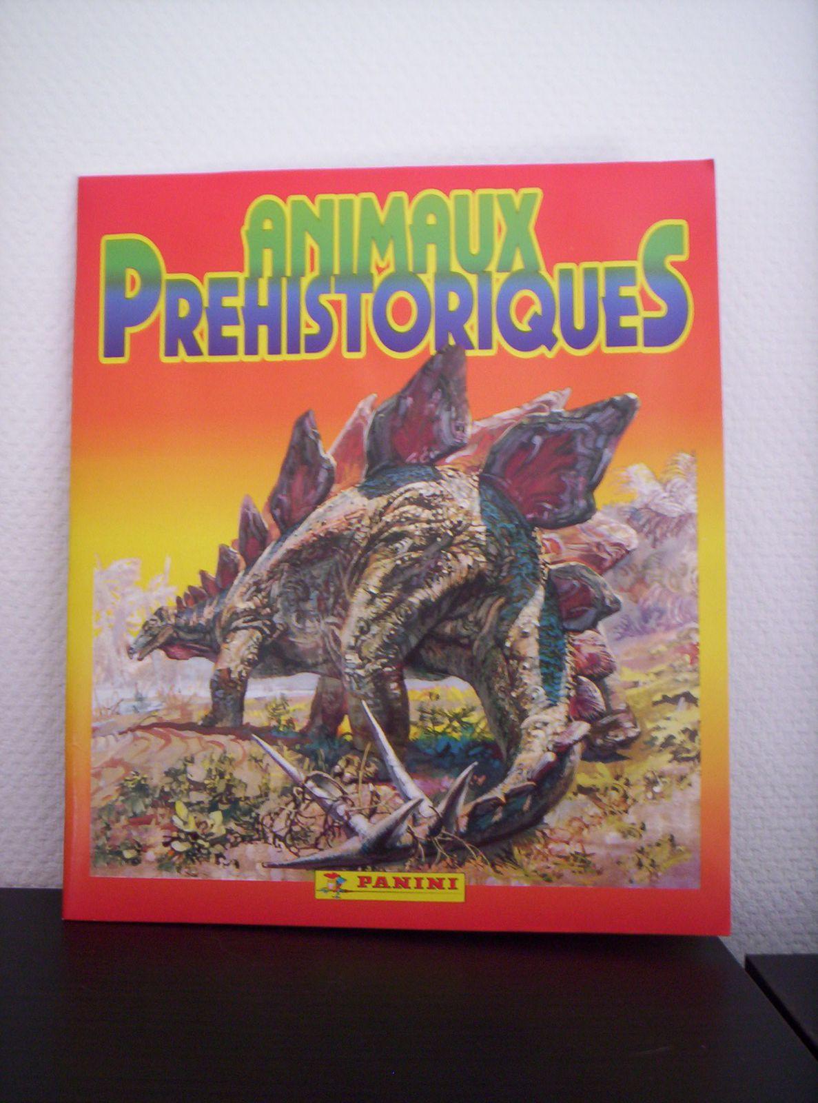 Animaux préhistoriques, Panini, 1992.