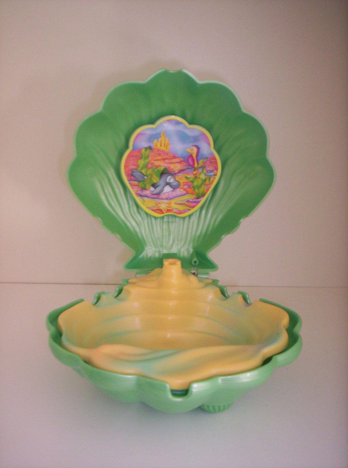 Coquillage vert Disney Ariel.