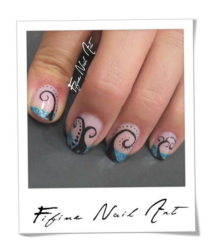 Blue French holo