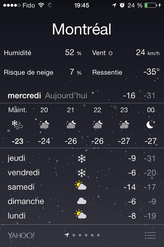 Montréal est Charlie