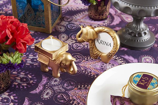 decoration table oriental marque place elephant