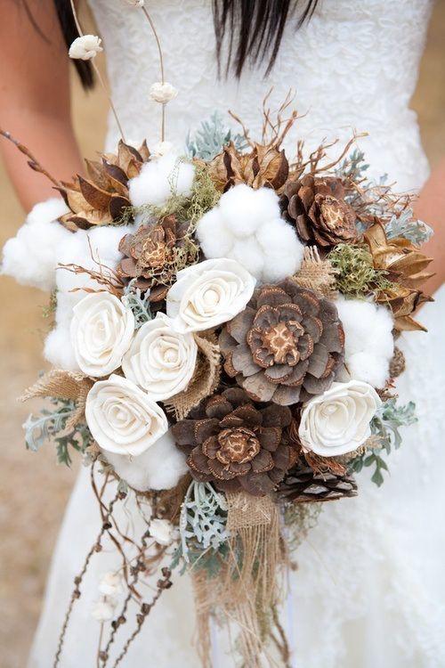 bouquet de la mariée mariage a noel