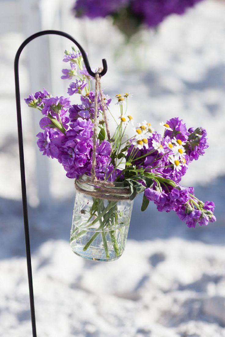 Mariage violet gris argent couleur mariage for Decoration ceremonie