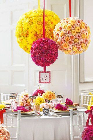 Mariage en jaune et rose couleur mariage for Pink and yellow wedding theme ideas