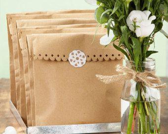 sac en papier kraft pour bonbons