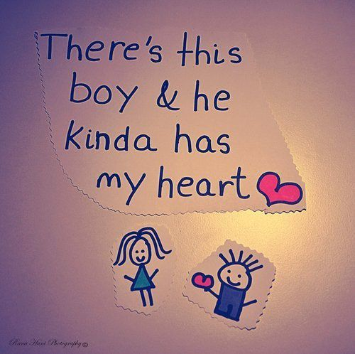 There´s this boy & he Kinda has my heart *_*