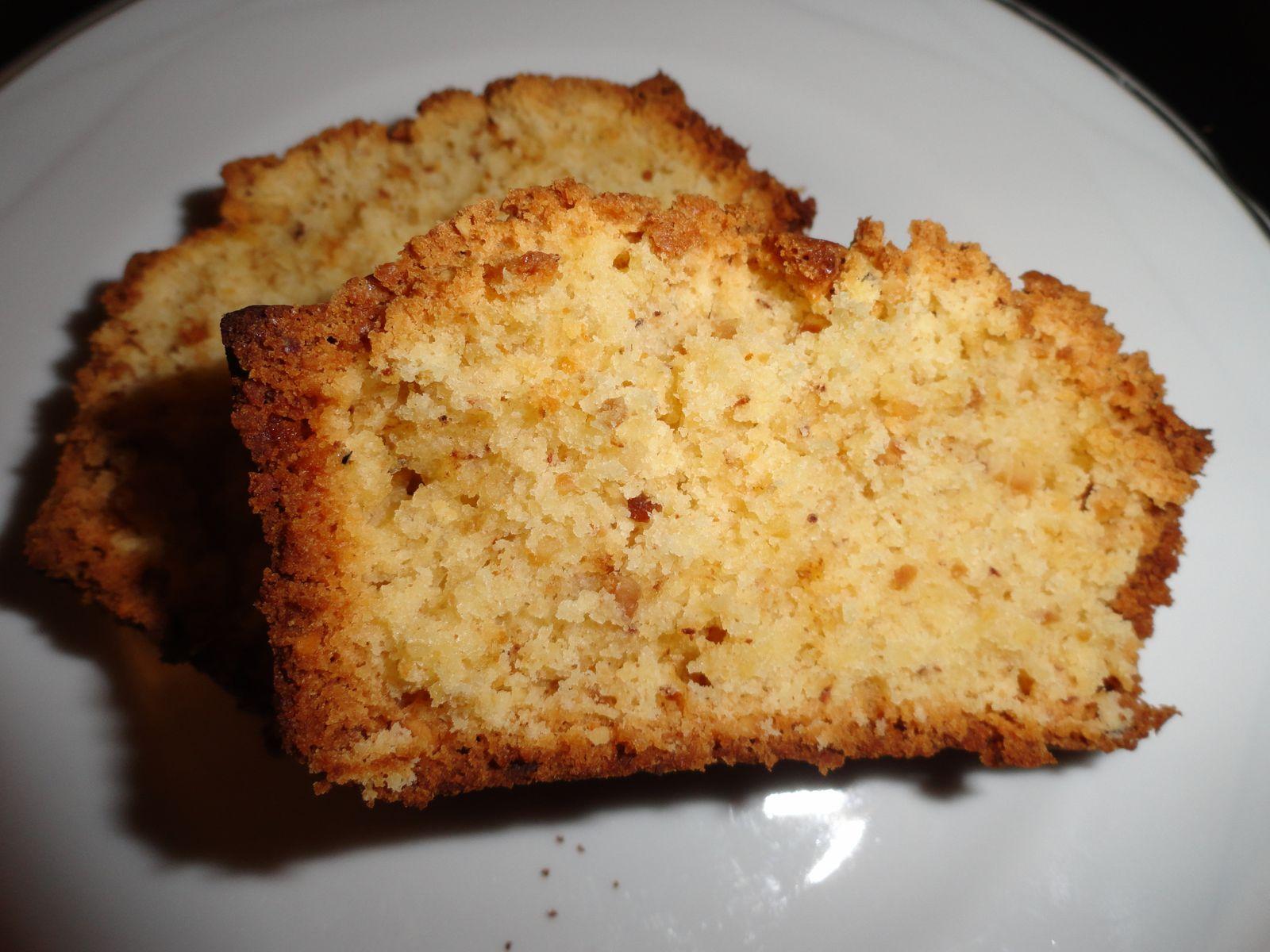 cake au pralin sans gluten - cuisiner sans gluten