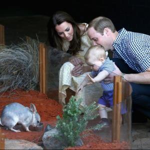 La 1ère sortir du petit Prince et ses parents
