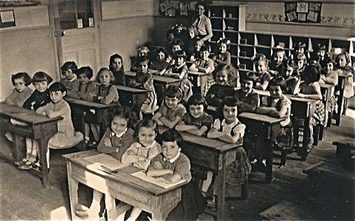 CP, année scolaire 1952-53