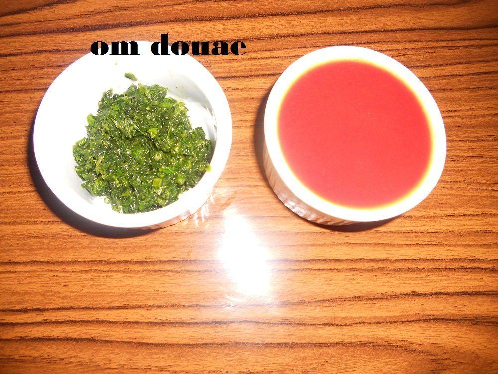 بلبولة الشعير بصوص الطماطم