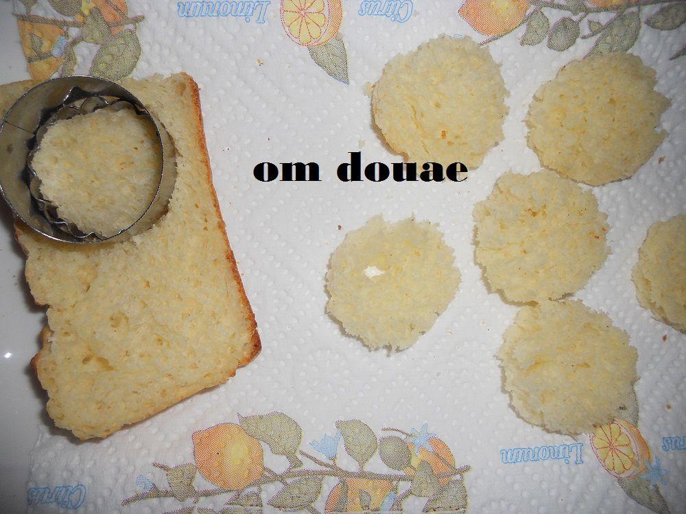 مقبلات بخبز الطوست