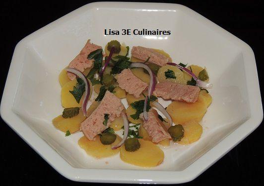 Salade pommes de terre - saucisses de Francfort (salade tiède)