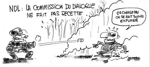 NDDL : La commission du dialogue......
