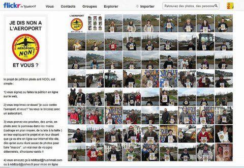 NDDL : Une originale pétition-photo en soutien à la lutte