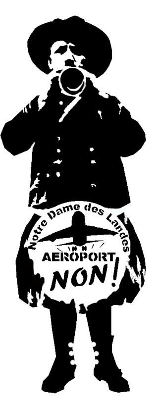 Pochoir / NDDL : Aeroport ...NON !