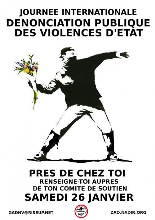 Journée internationale de dénonciation des violences d'état