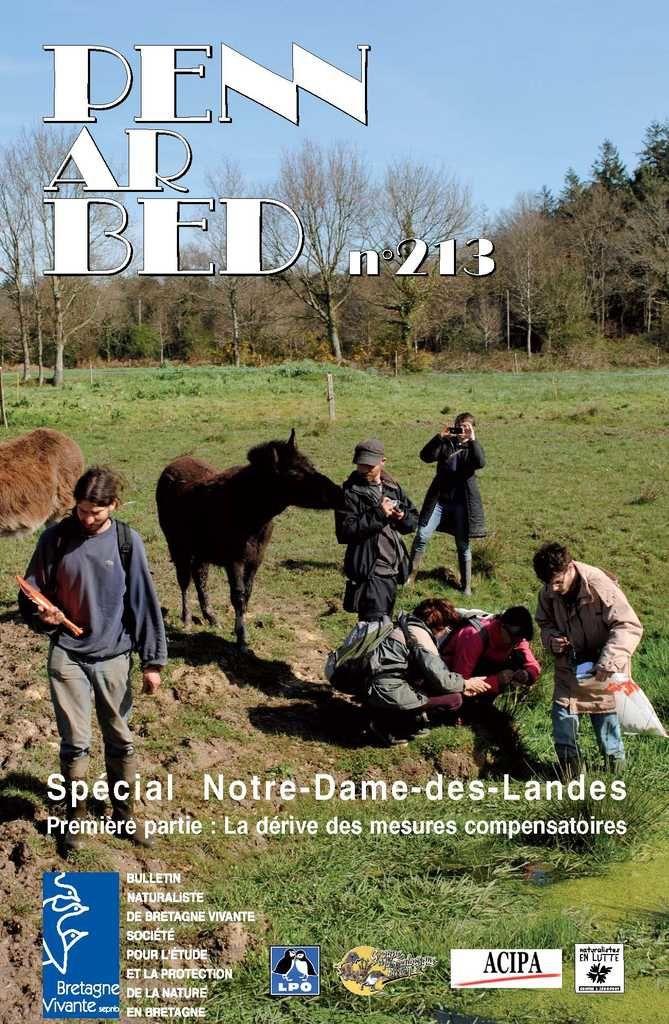 NDDL : Les Naturalistes en lutte publient la première partie de leur travail contre le projet d'aéroport