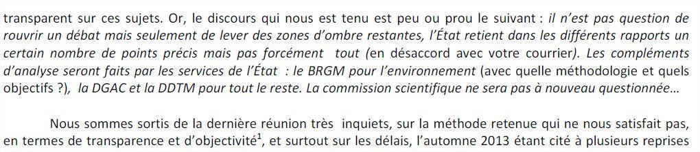 NDDL :  Dialogue rompu entre élus et préfet (presse Océan du 13.06.13)
