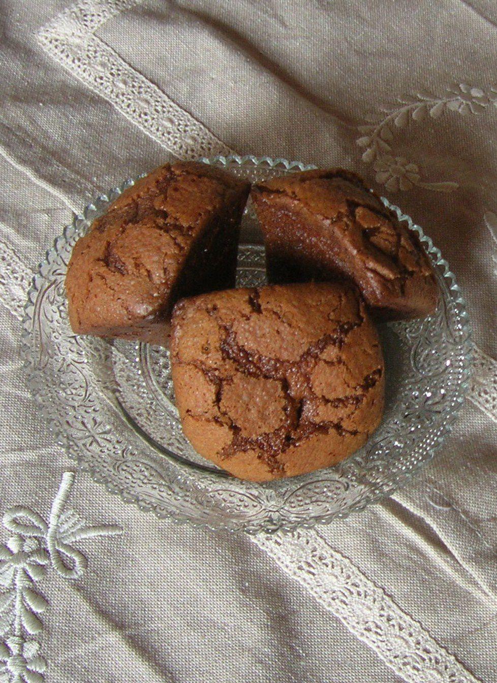 Mini-cakes aux chocolats de noël