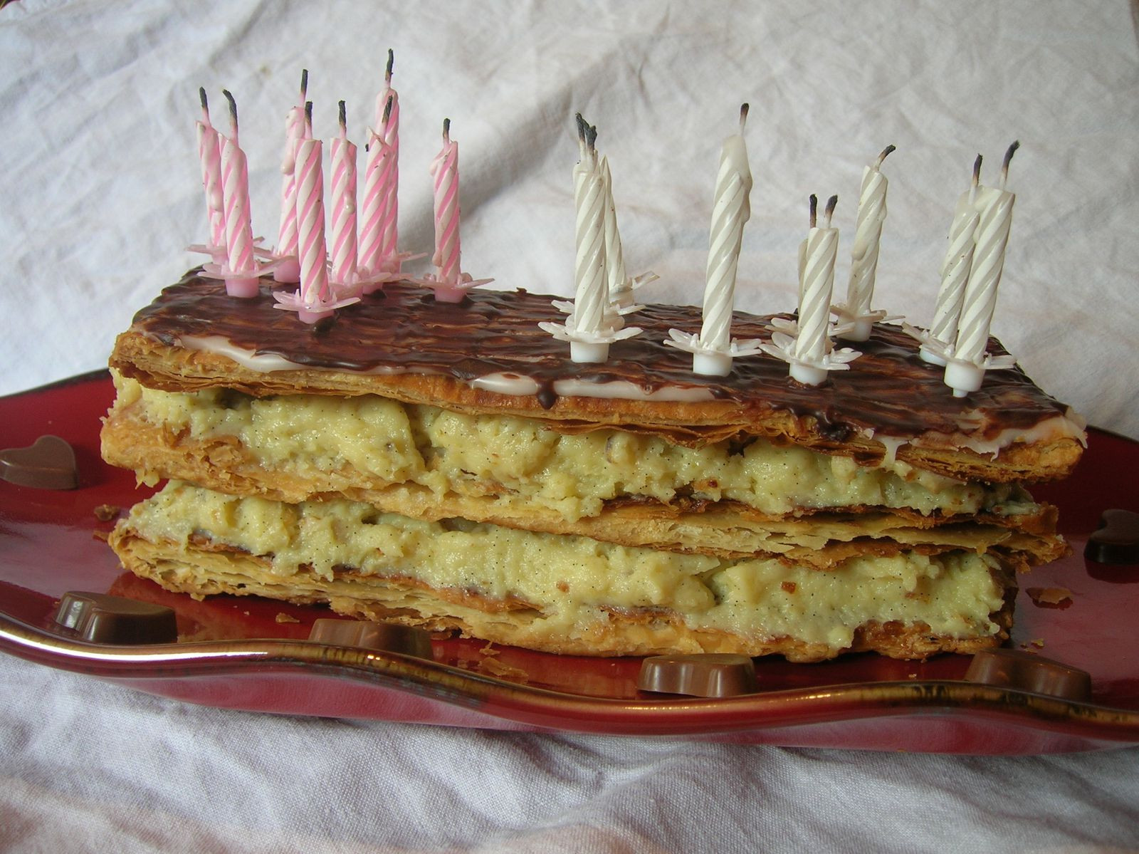 Mille-feuille anniversaire !