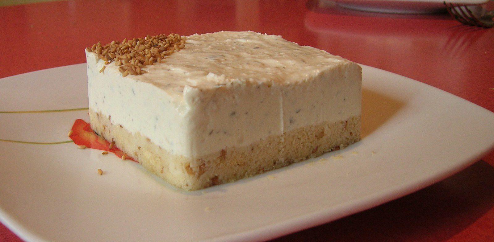 Cheesecake salé sans cuisson