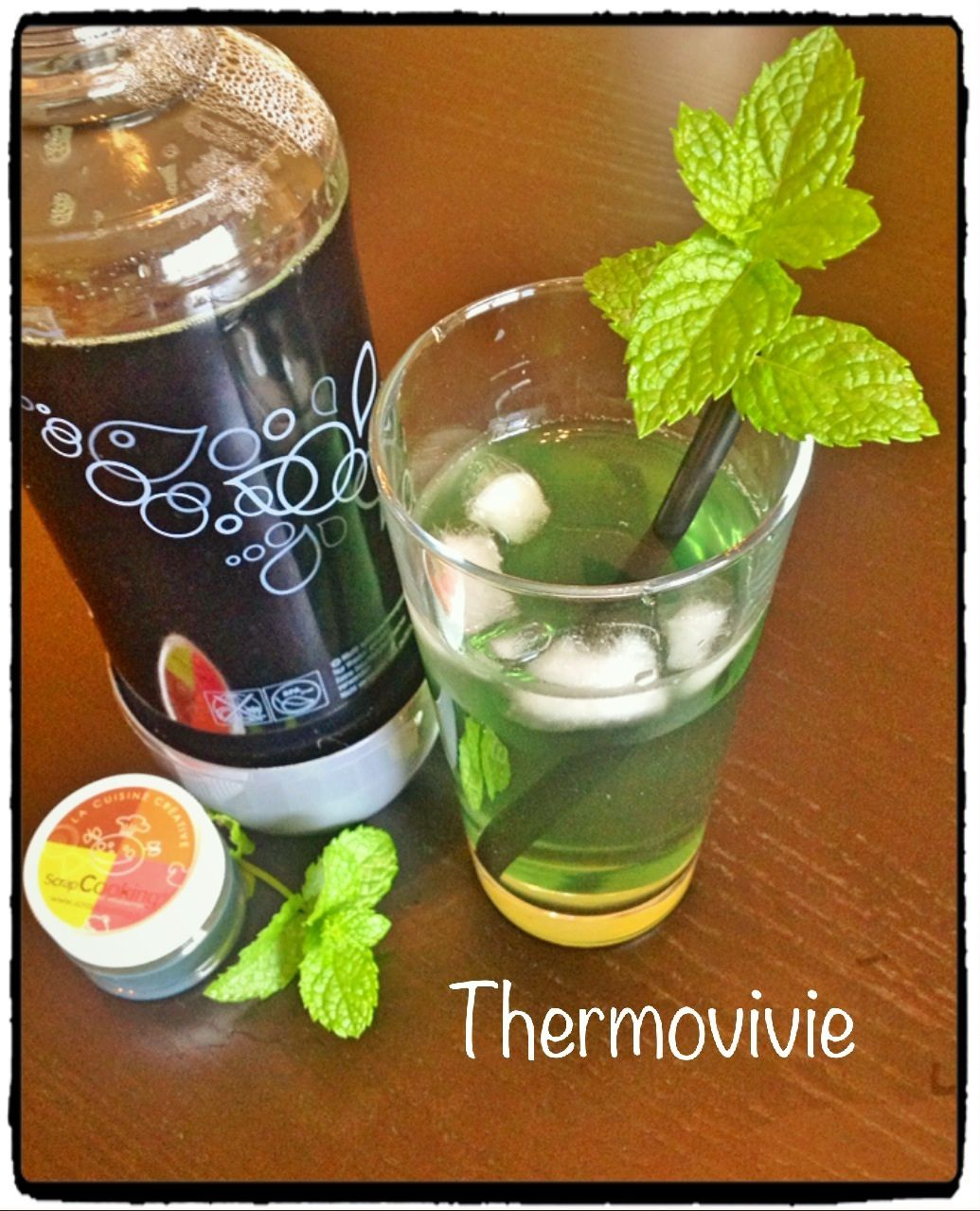 Sirop de menthe au thermomix thermovivie - Thermomix ne pese plus ...