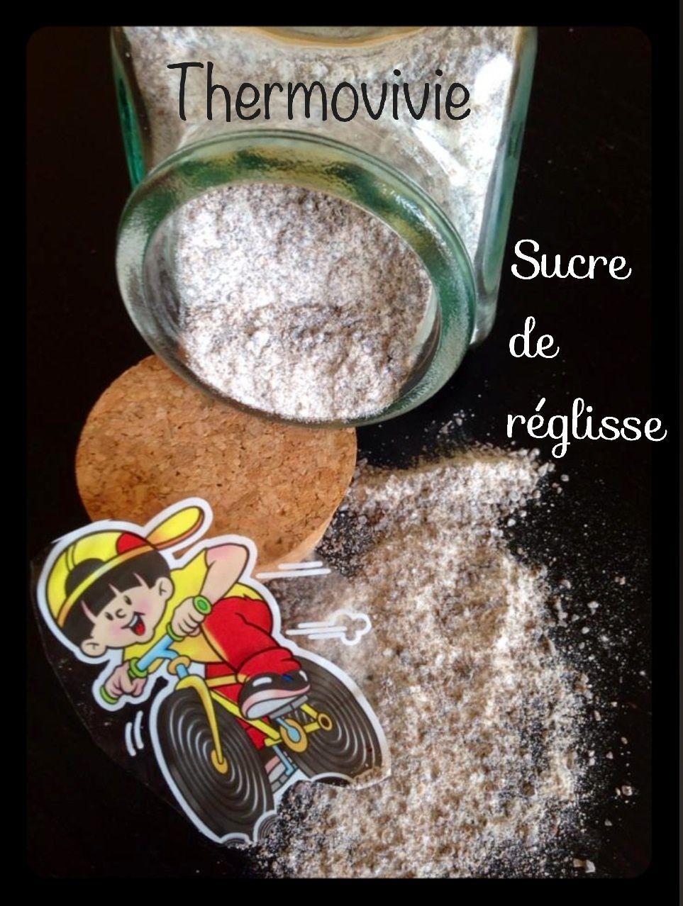 Sucre aromatisé au réglisse avec le thermomix