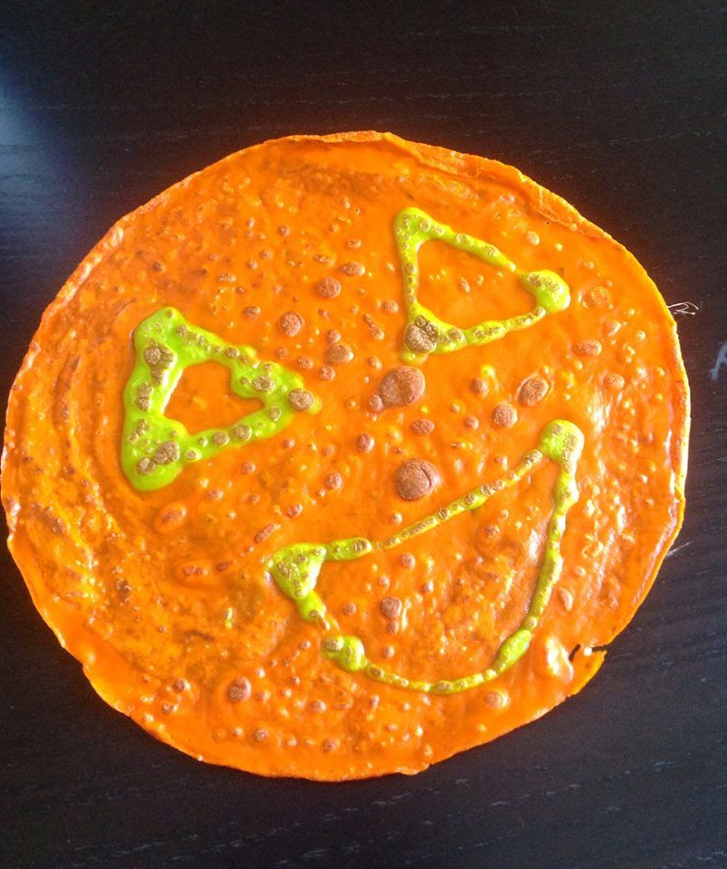 crepes d'halloween