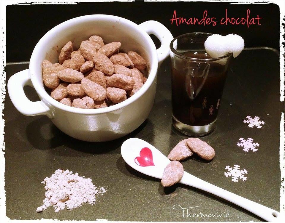 Amande enrobée de chocolat