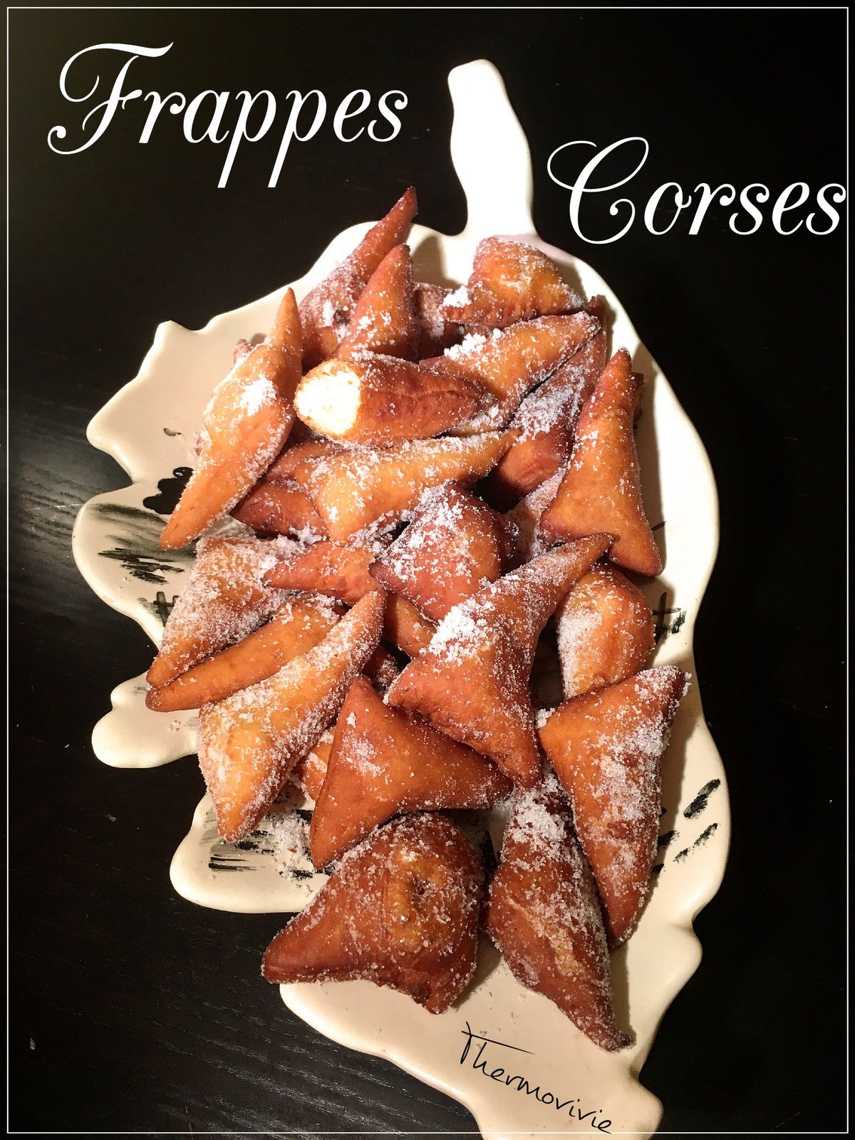 Frappes Corses, recette au thermomix