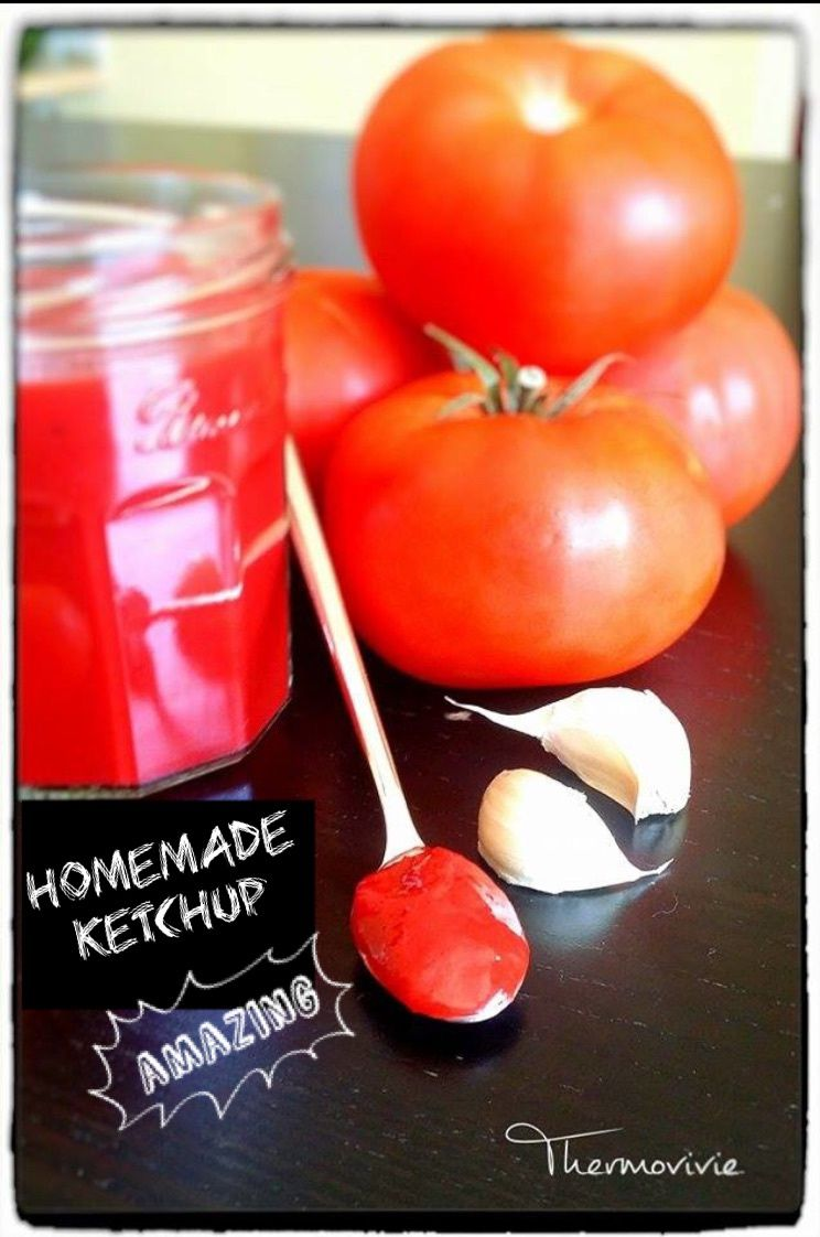 Homemade ketchup (no nasties yeayyyy….)