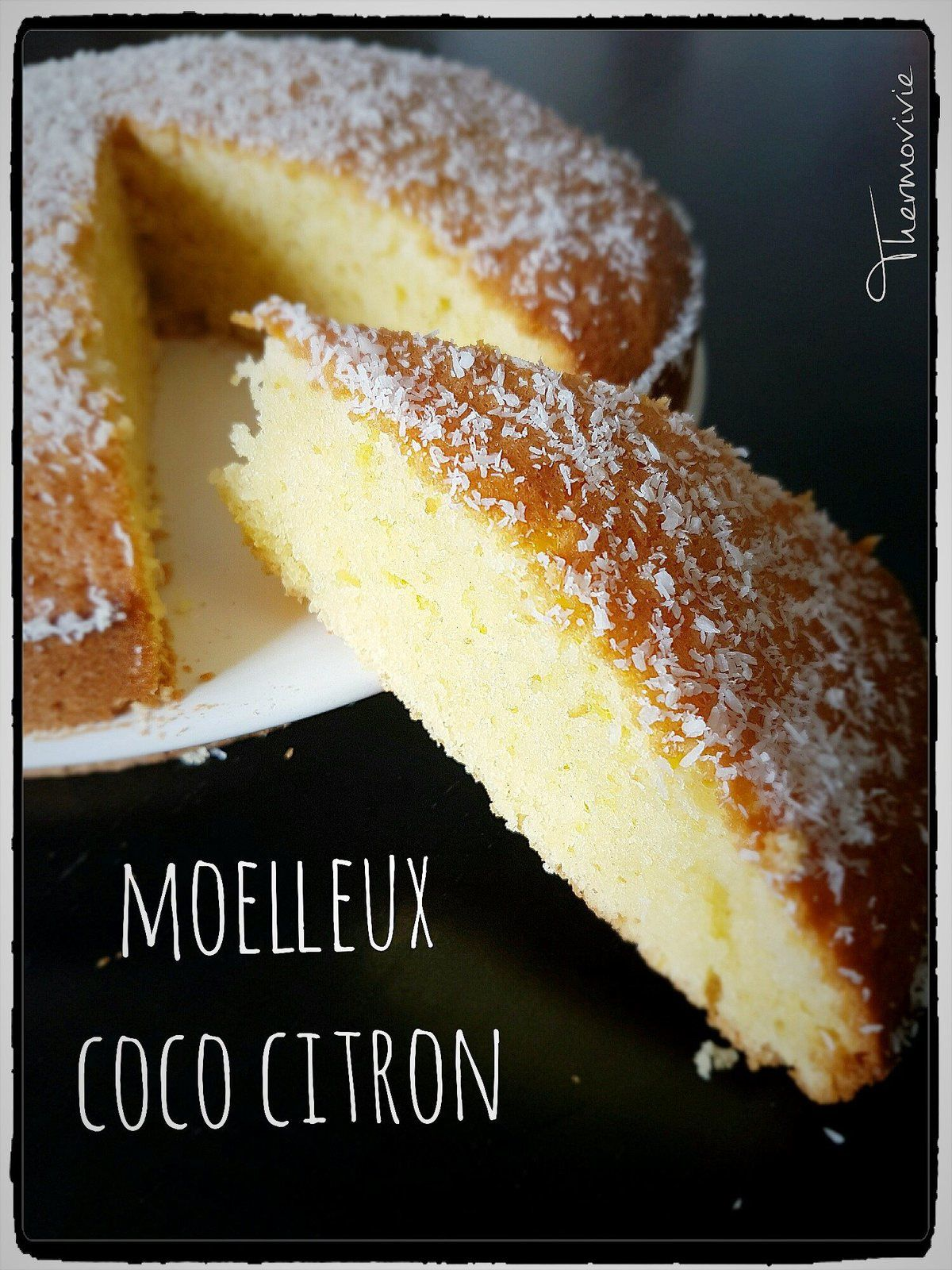 gateau rapide noix de coco thermomix home baking for you blog photo. Black Bedroom Furniture Sets. Home Design Ideas