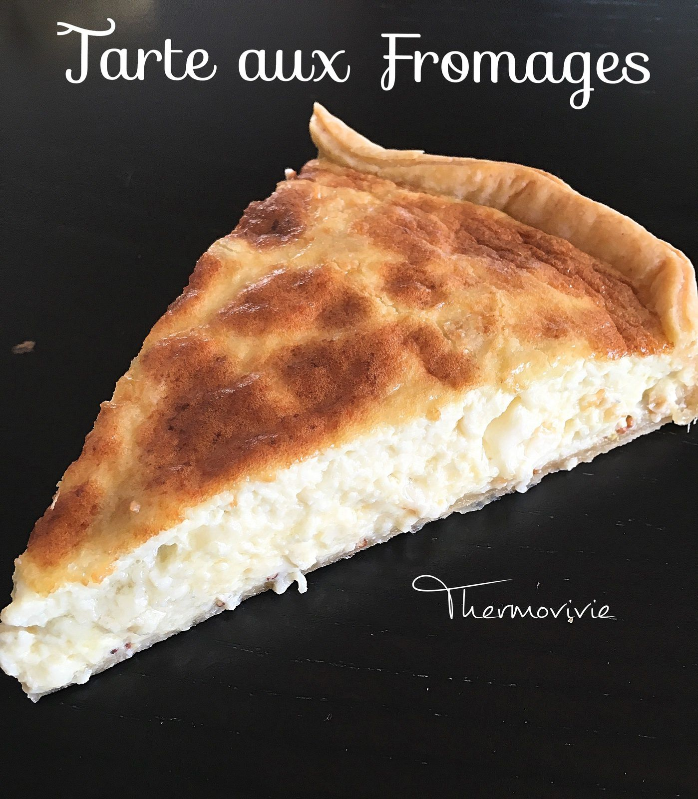 tarte aux fromages recette au thermomix thermovivie. Black Bedroom Furniture Sets. Home Design Ideas