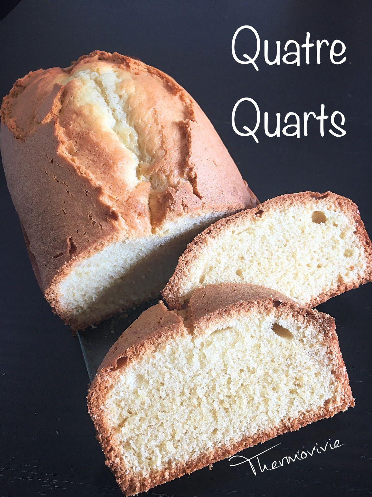Quatre-quarts breton, recette au thermomix.