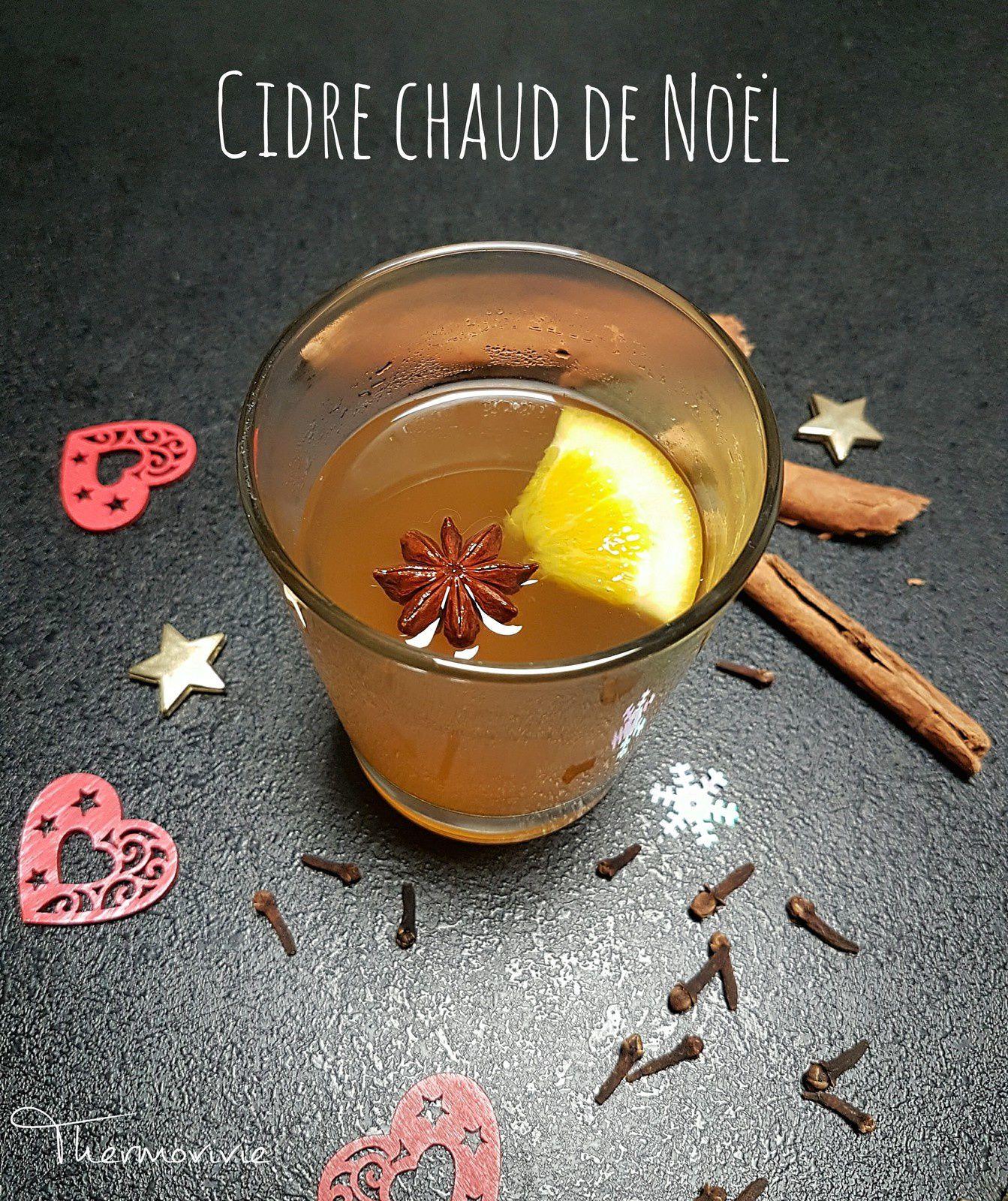 Cidre chaud de Noël, recette au thermomix