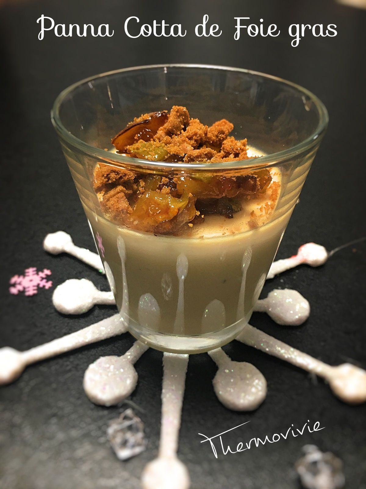 panna cotta de foie gras recette au thermomix thermovivie. Black Bedroom Furniture Sets. Home Design Ideas