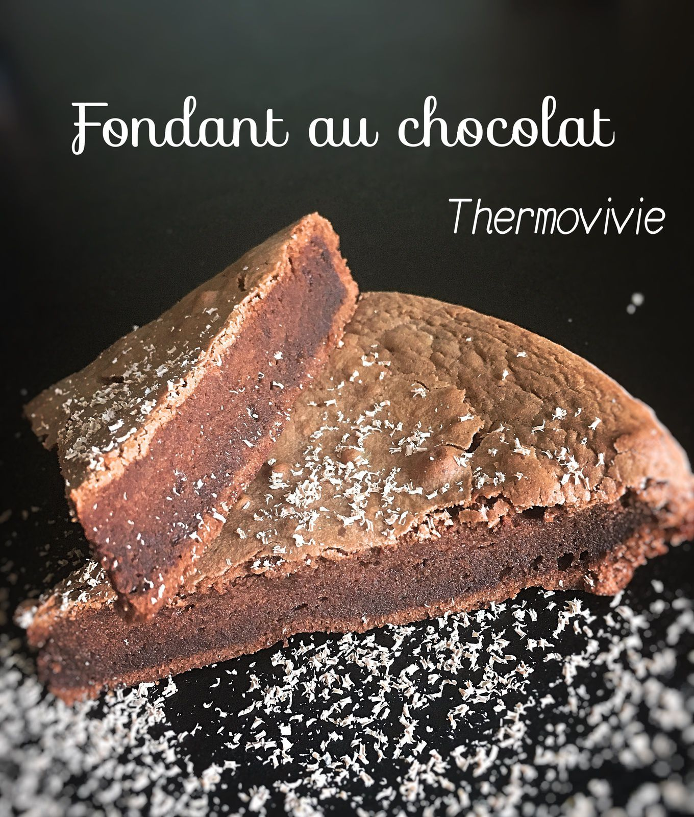 fondant au chocolat au thermomix recette de cyril lignac. Black Bedroom Furniture Sets. Home Design Ideas