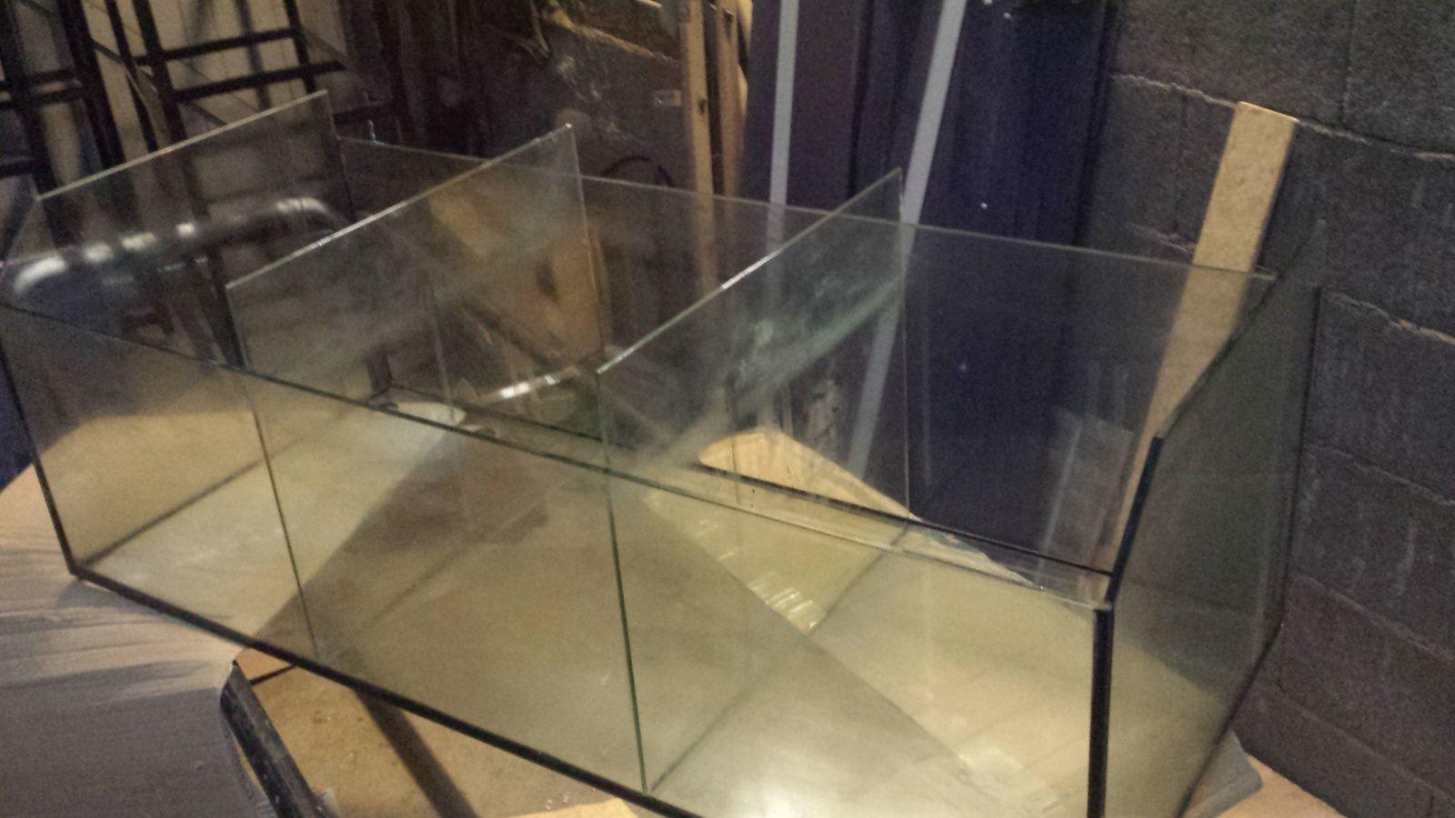 Construction étagère aquarium